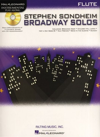 Broadway Solos (+CD): for flute