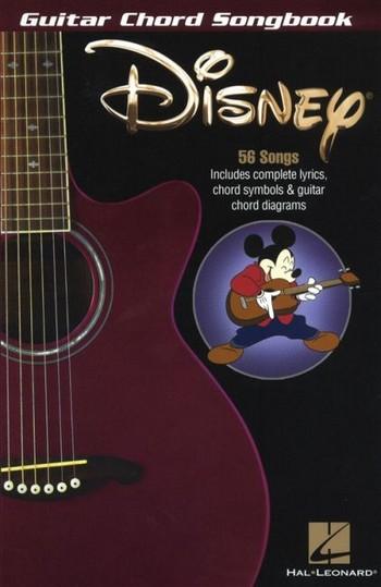 Disney: Guitar Chord Songbook songbook lyrics/chord symbols/guitar chord boxes