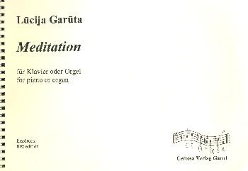 Meditation: für Klavier (Orgel)