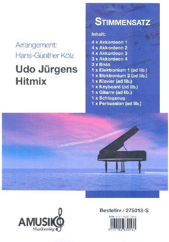 Udo Jürgens Hitmix: für Akkordeonorchester
