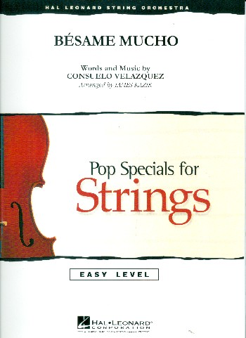Besame mucho: for string orchestra