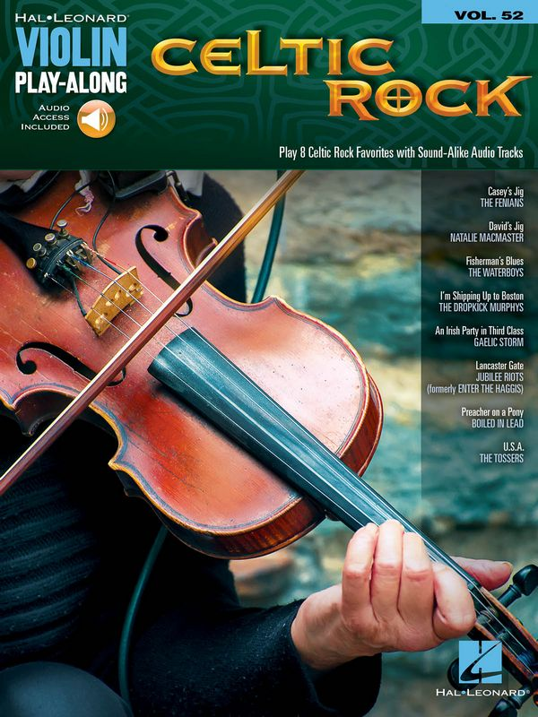 Violin Play-along vol.52 (++ Audio access): Celtic Rock