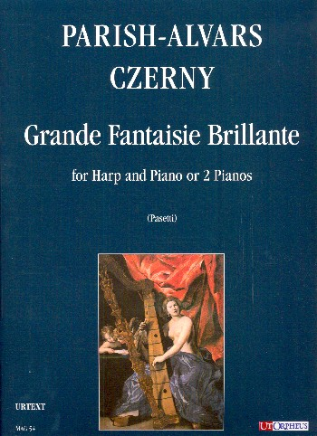 Grande fantaisie brillante: for harp and piano (2 pianos)