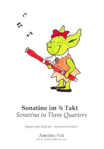 Sonatine im 3/4 Takt: für Fagott und Klavier