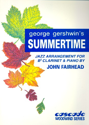 Summertime: for clarinet and piano