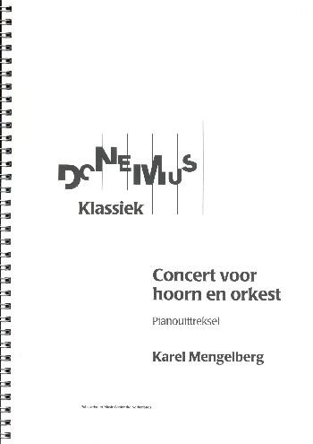 Concert: voor hoorn en orkest