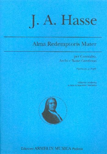 Alma redemptoris mater: für Alt, Streicher und Bc