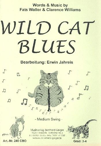 Wild Cat Blues: für Combo mit Klarinette solo