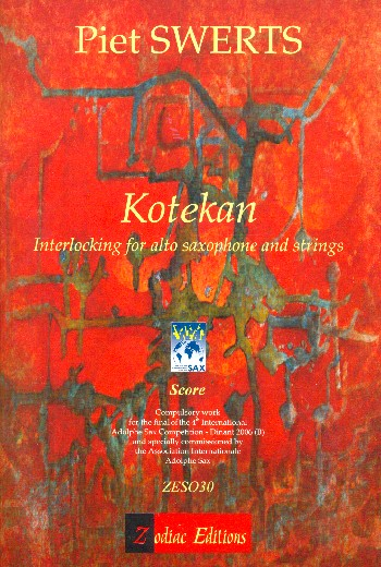 Kotekan: for saxophone and strings