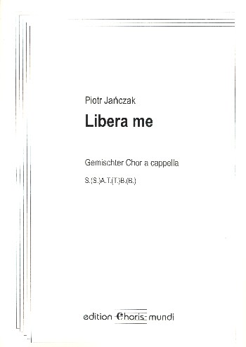 Libera me: für gem Chor a cappella