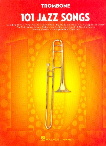 101 Jazz Songs: for trombone