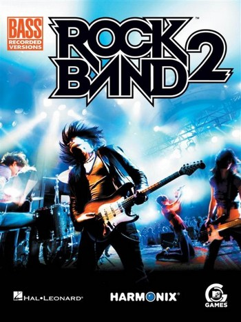 Rock Band vol.2: songbook vocal/bass/tab