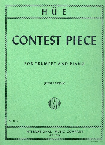 Contest Piece: for trumpet and piano