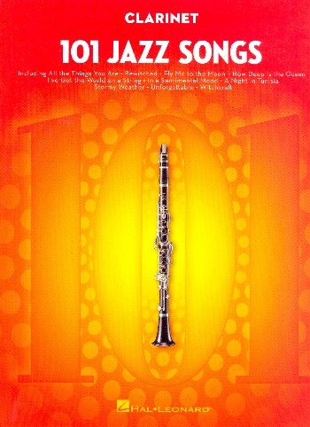 101 Jazz Songs: for clarinet