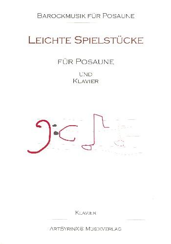 Leichte Spielstücke (+CD): für Posaune und Klavier