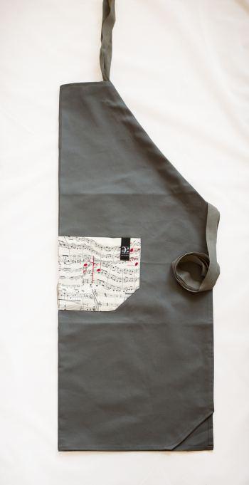 - Schürze Le Chef mit Tasche