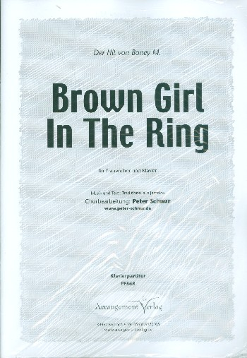 Brown Girl in the Ring: für Frauenchor und Klavier
