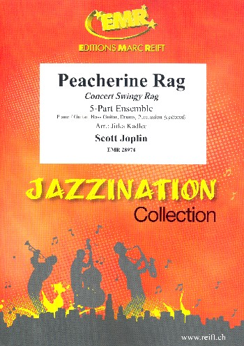 Peacherine Rag: for 5-part ensemble (rhythm group ad lib)