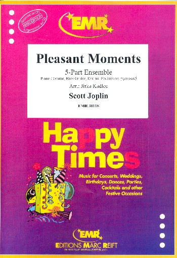 Pleasant Moments: for 5-part ensemble (rhythm group ad lib)