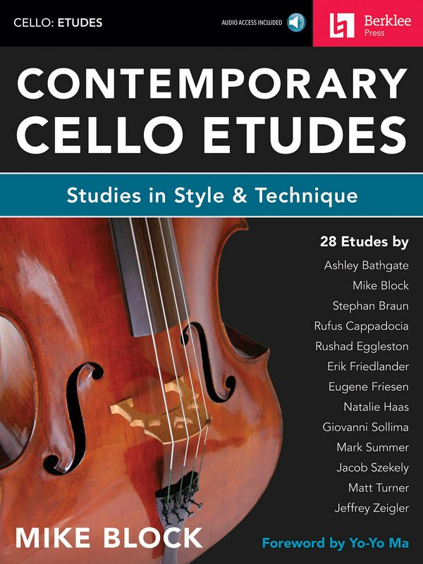 Contemporary Cello Etudes (+Audio Online) : - Vollanzeige.