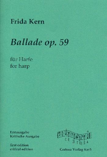 Ballade opus.59: für Harfe