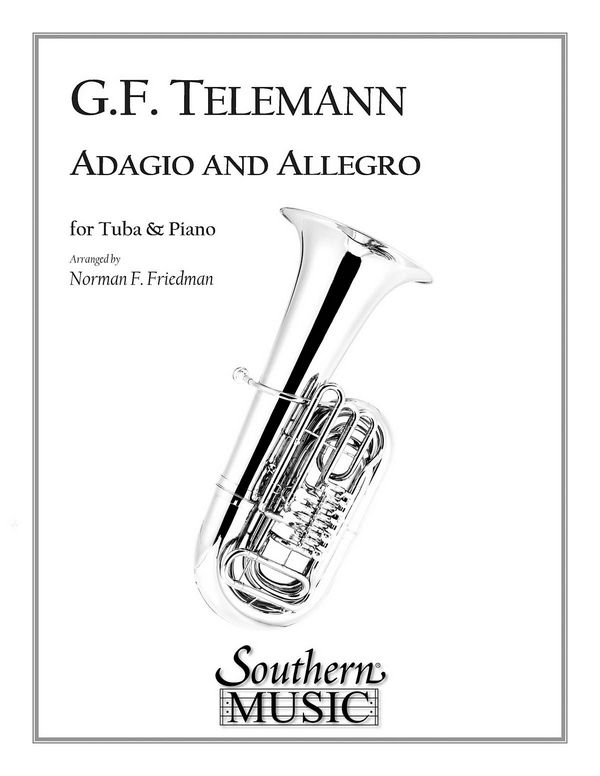 Adagio and Allegro: for tuba and piano