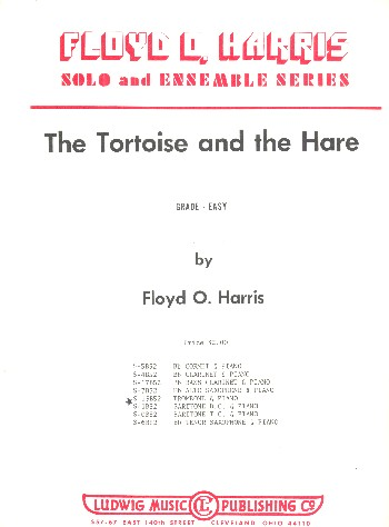 The Tortoise and the Hare: for trombone or baritone in b.c.and piano