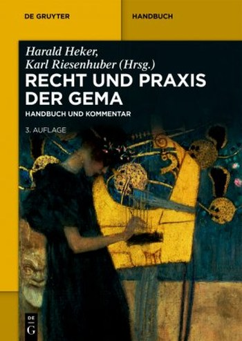 Recht und Praxis 2018 der GEMA - Vollanzeige.