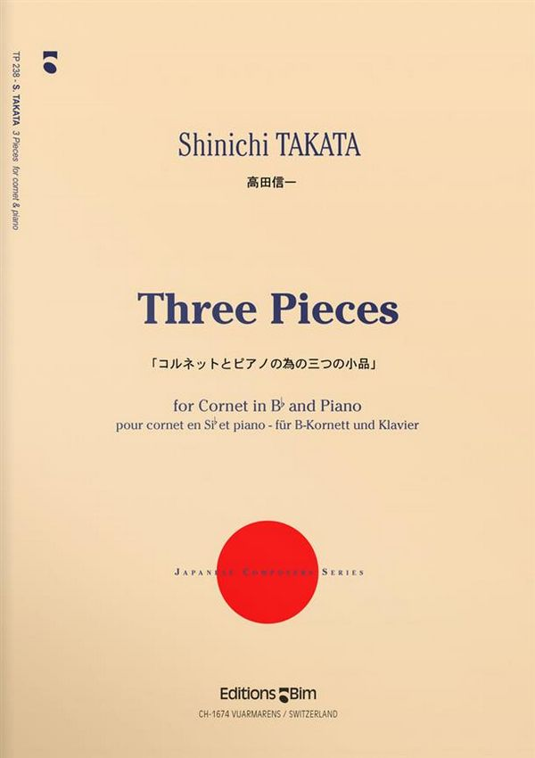 3 Pieces: for cornet and piano