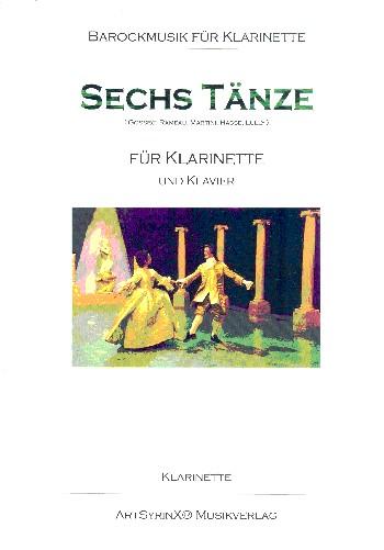 6 Tänze: für Klarinette und Klavier