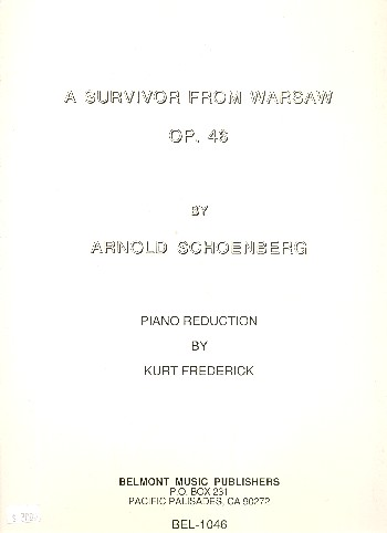 A Survivor from Warsaw opus.46: