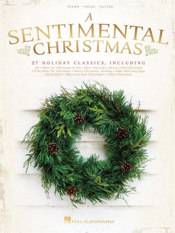 A sentimental Christmas songbook piano/vocal/guitar