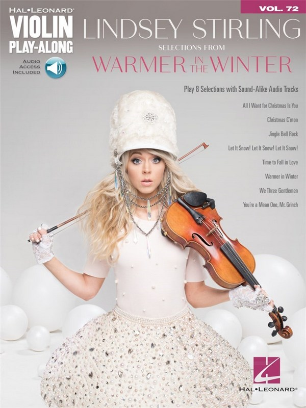 Selections from Warmer in the Winter (+Audio Access): for violin