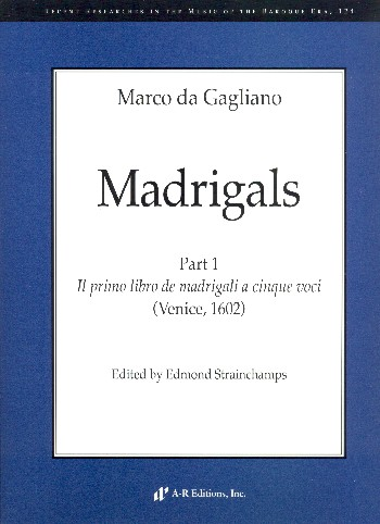 Madrigals vol.1: for 5 voices