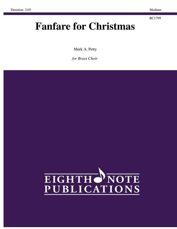 Fanfare for Christmas: for brass ensemble