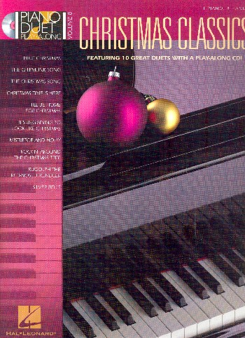 Christmas Classics (+CD): for piano 4 hands