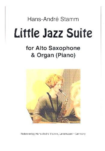 Little Jazz Suite: für Altsaxophon und Orgel (Klavier)