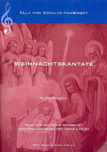 Weihnachtskantate . für soli (SATB), Chor und Orchester