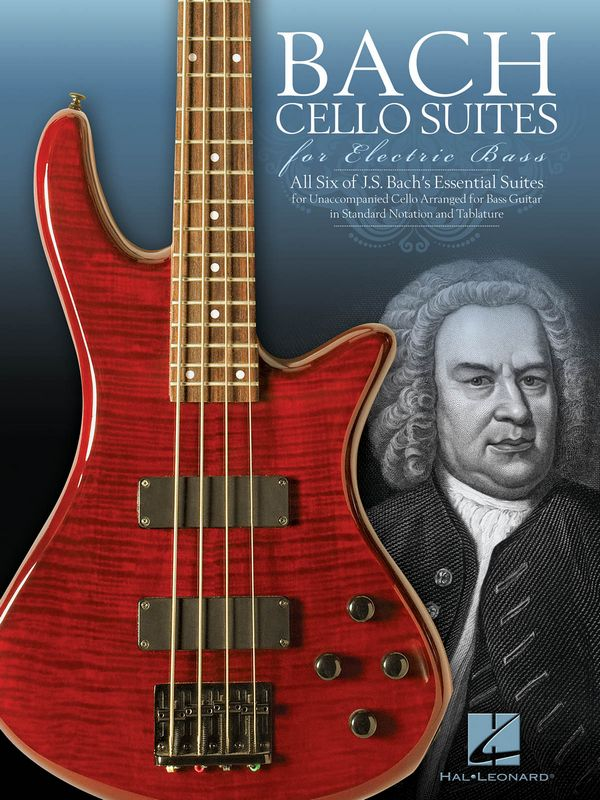 Cello Suites: for electric bass/tab