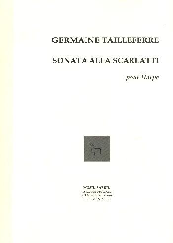 Sonata alla Scarlatti: pour Harpe