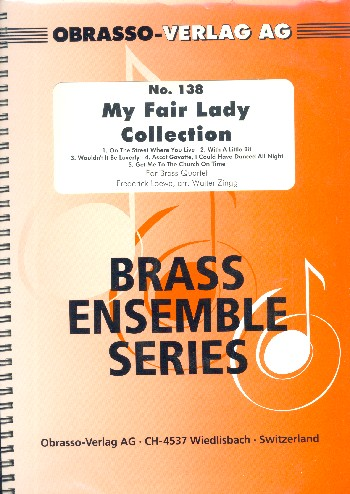 My fair Lady Collection: for brass quartet