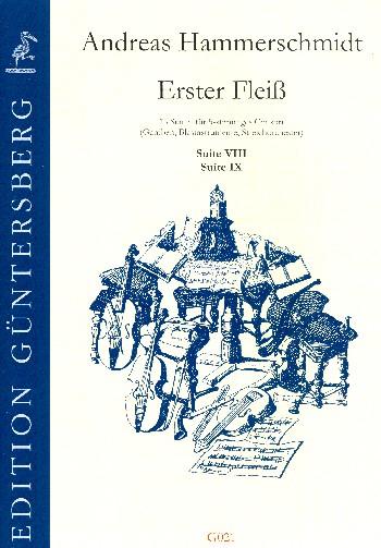 Erster Fleiß Band 5 (Nr.7-8): für 5stimmiges Consort (Gamben, Bläser, Streicher)