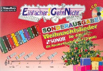 Weihnachtslieder (+CD): für das Sonor GS Kinderglockenspiel in C-Dur