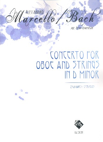 Concerto in di Minor for Oboe and Strings: for 2 guitars