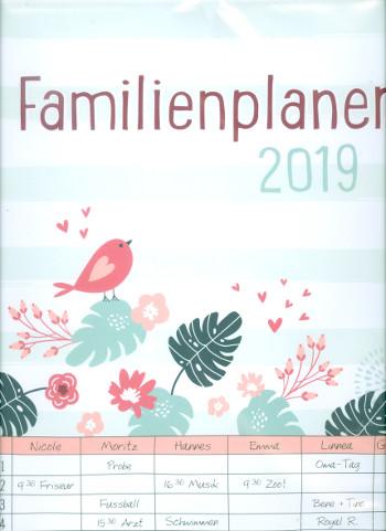 Familienplaner 2019 Monatskalender