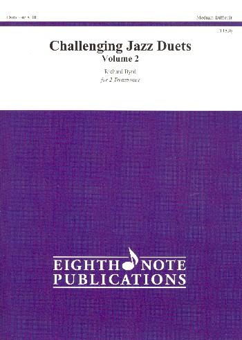 Challenging Jazz Duets vol.2: for 2 instruments