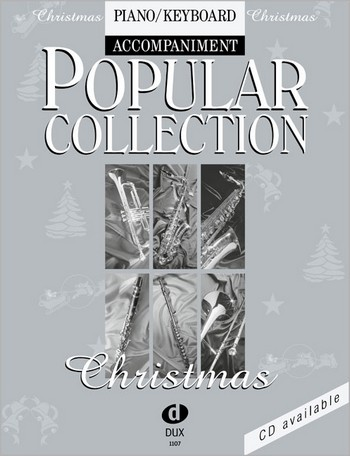 Popular Collection Christmas: für Melodieinstrument und Klavier