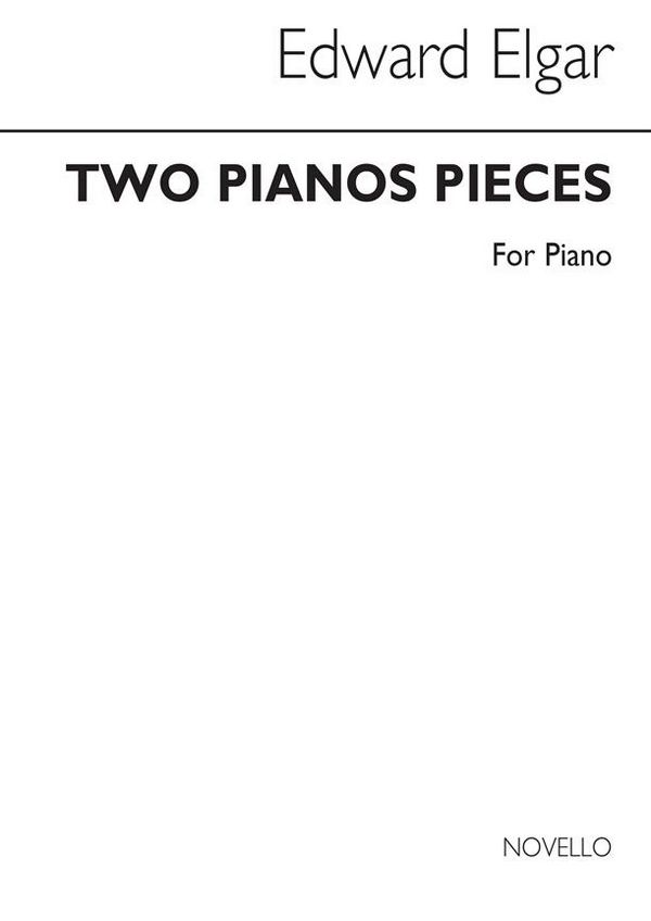 2 Pieces: for piano