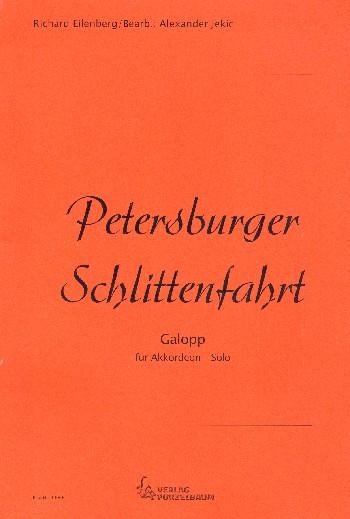 Petersburger Schlittenfahrt: für Akkordeon