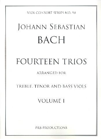 14 Trios vol.1 (no.1-7): for 3 viols (ATB)